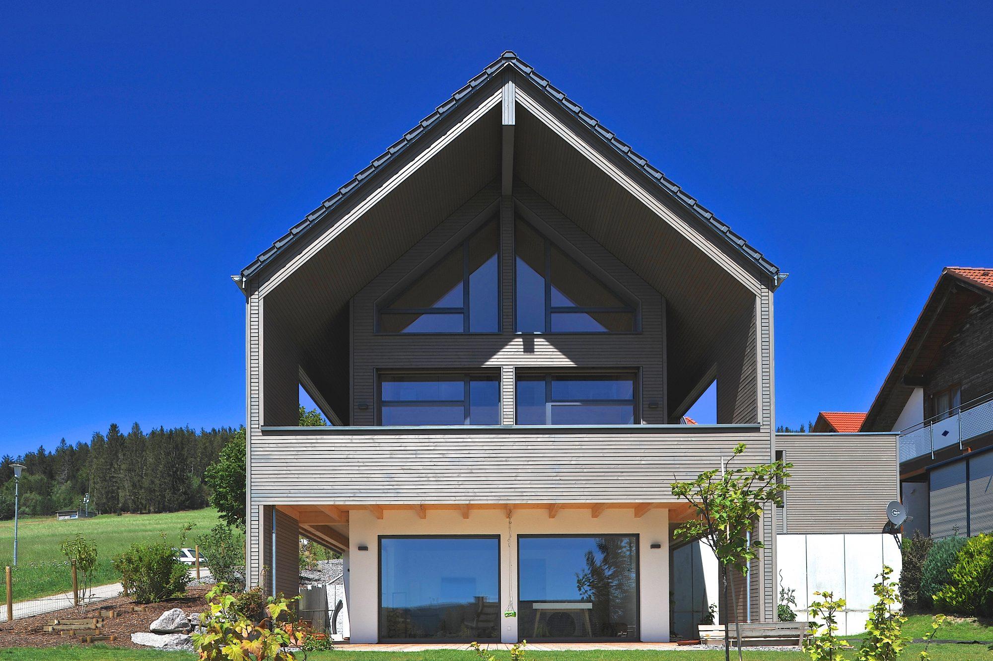 Wohnhaus im Schwarzwald in Massivholzbauweise